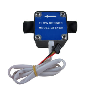 "SENSTREE G1/2"" Oil Fuel Gasoline Diesel Milk Water Liquid Gear Flow Sensor Flow Meter Counter"