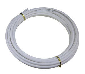 "DIGITEN 1/4"" Tube 10m Meters 30ft Tubing Hose Pipe for RO Water Filter System White PE"