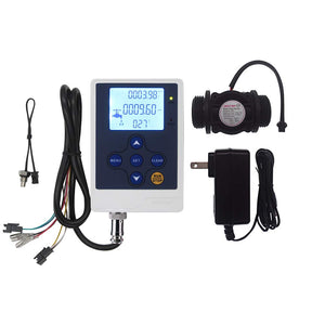 "DIGITEN Water Flow Control LCD Display+G1""Flow Sensor Meter"