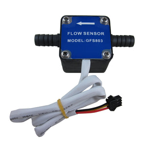 "DIGITEN 3/8"" Oil Fuel Gas diesel Milk Water Liquid Flow Sensor Flow Meter Counter"