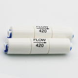 "DIGITEN 75GPD Flow Restrictor 420CC 1/4"" Quick Connect for RO Reverse Osmosis (pack of 2)"