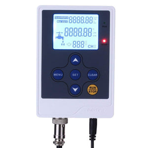 "DIGITEN Water Flow Control LCD Display Controller+G3/4"" Hall Flow Sensor+DC 12V Power Adapter"