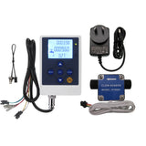 "DIGITEN LCD Flow Control Meter + G1/2"" Fuel Oil Gasoline Diesel Milk Gear Flow Counter"