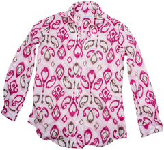 india fuchsia tunic