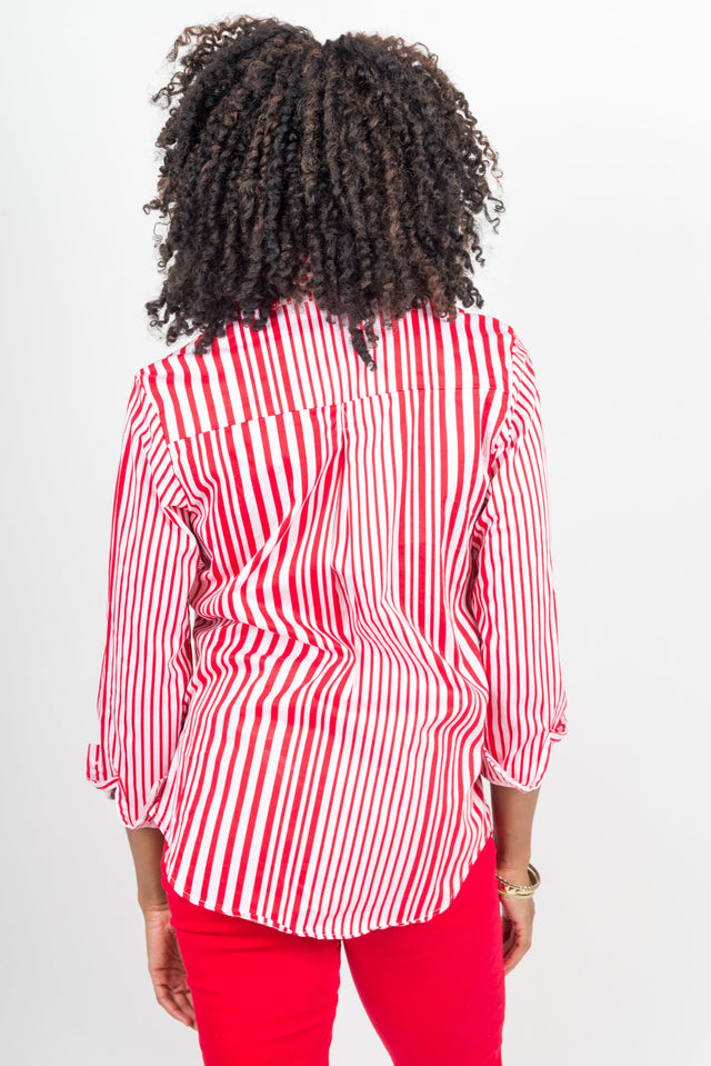 french redstripe tunic
