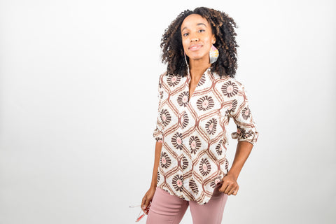 chocolate crunch tunic