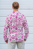india fuchsia LS