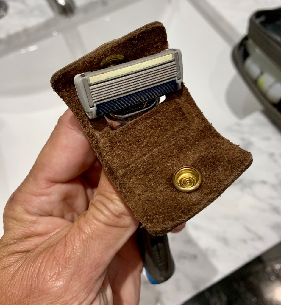 razor travel sheath