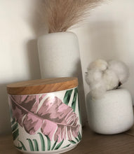 Load image into Gallery viewer, Palm Leaf Canister Candle