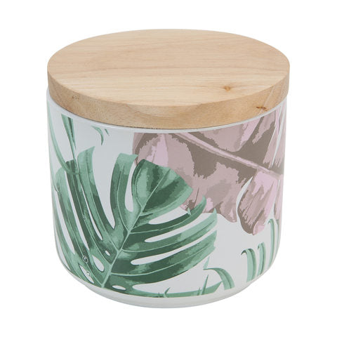 Palm Leaf Canister Candle