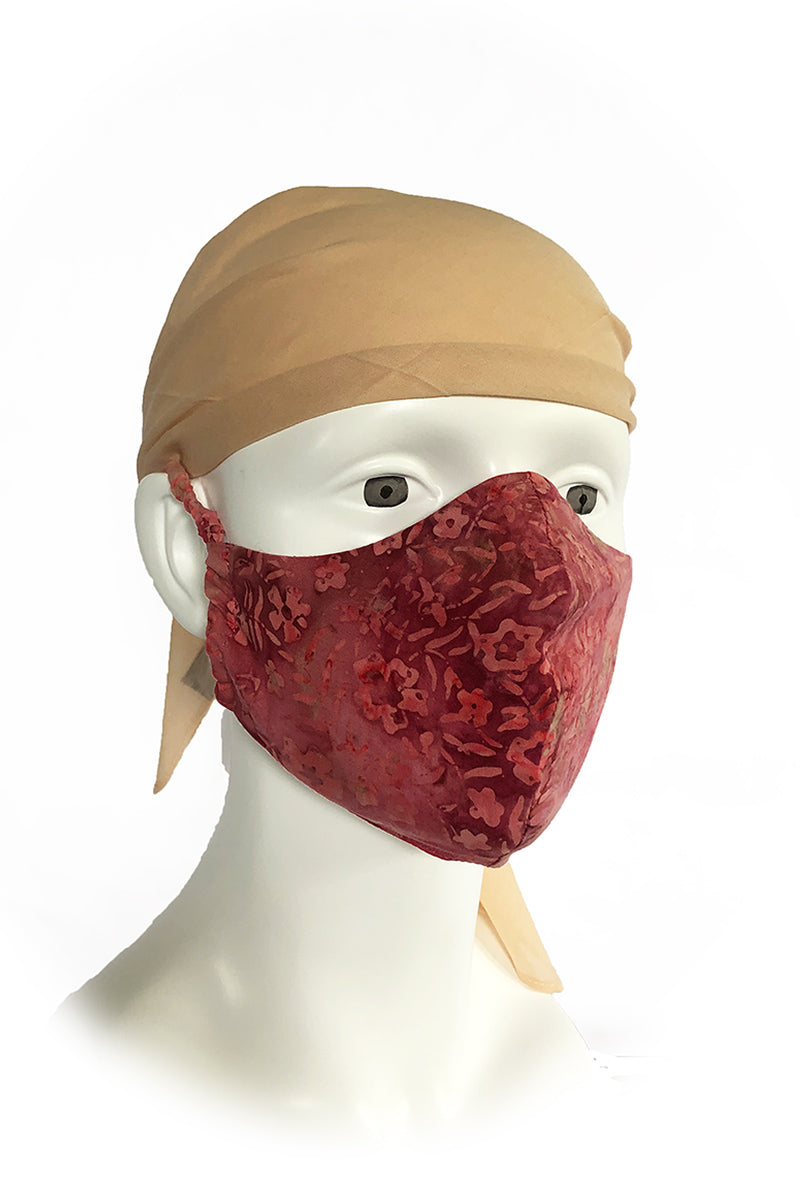 Fabric Face Mask 3 Layers