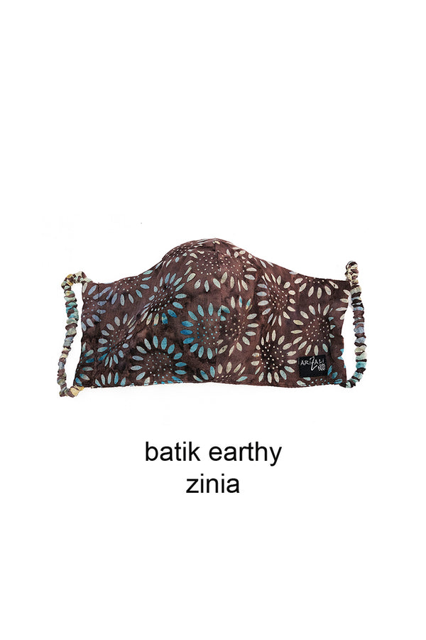 Batik Mask Brown Color