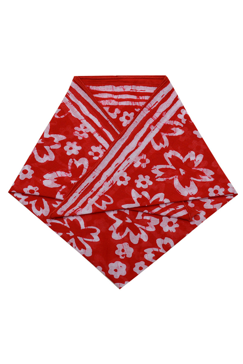 Cotton kerchief batik printed