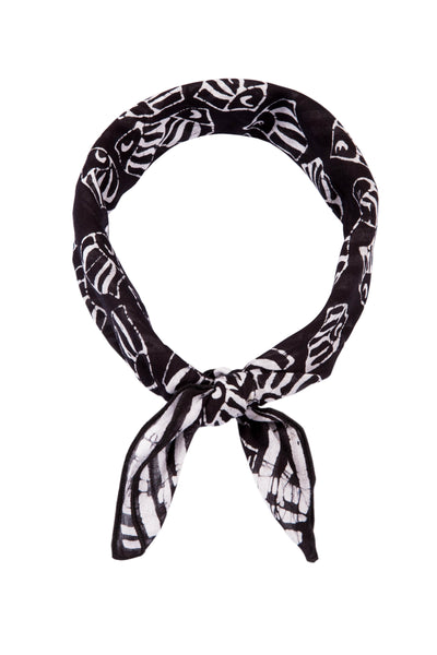 Kerchief Black & White