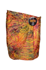 Orange Purple Min Sarong Silk