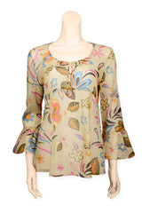 Blouse Printed Voile