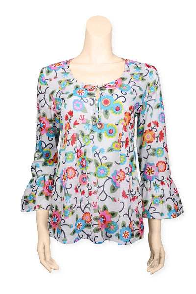 Blouse Printed Flowers