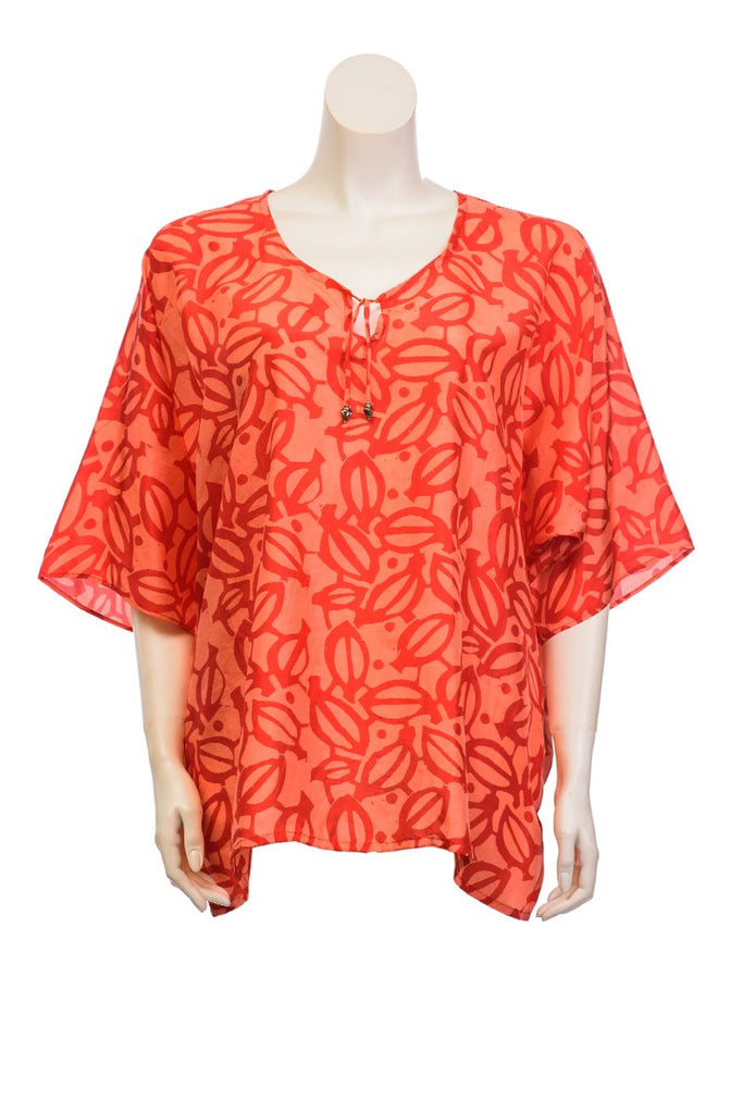 Silk Blouse Batik