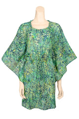 mini dress kaftan style