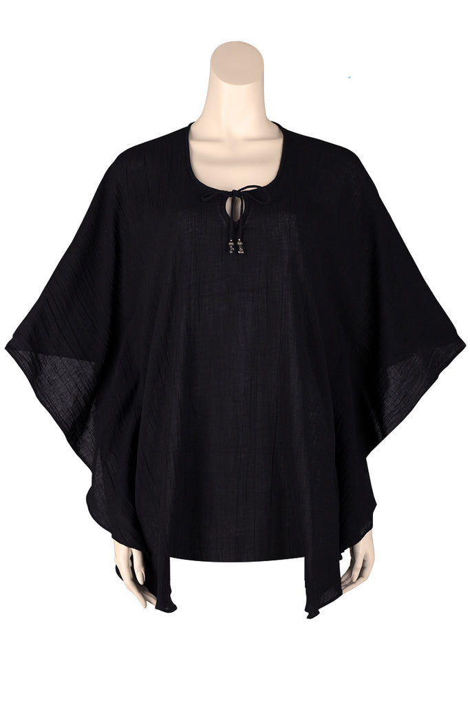 Short Kaftan Black