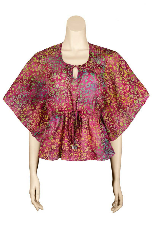 Blouse Batik Flowers