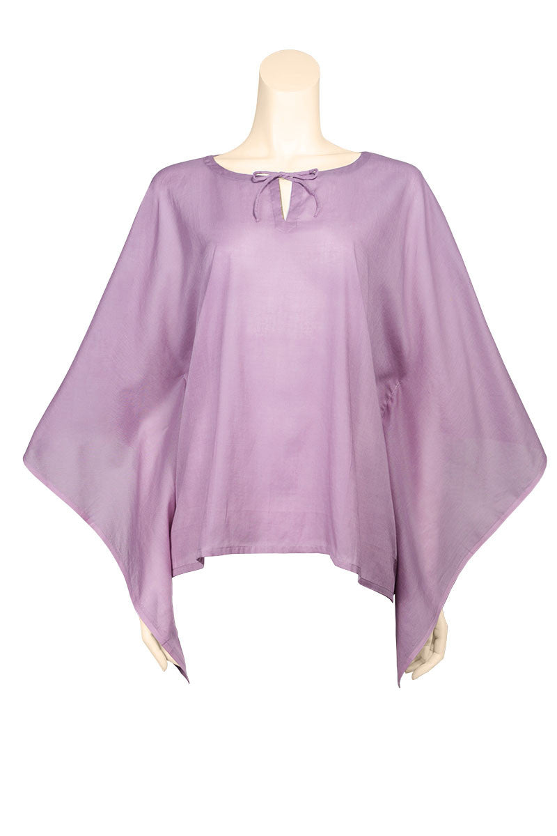 kaftan top voile plain