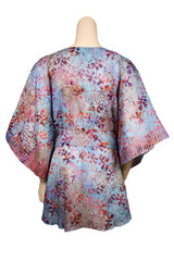 caftan top with belt back view