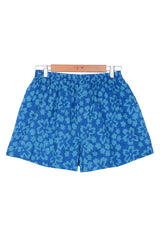 boxer short flower print