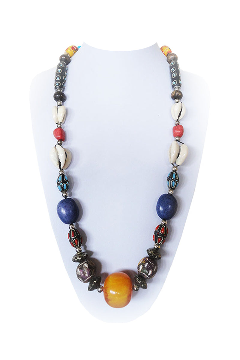 africa-trade-beads-necklace