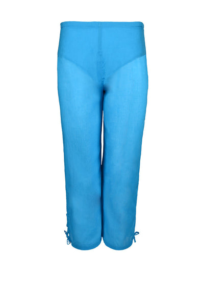 capri cotton pants, feather weight pants, cotton voile pants