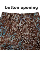 Men Pants Batik Fly Detail