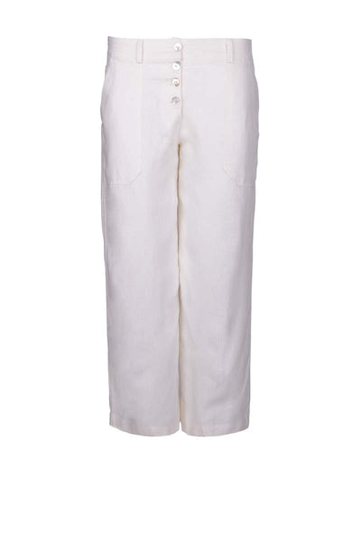 capri linen pants, 3/4 pants, linen pants for summer