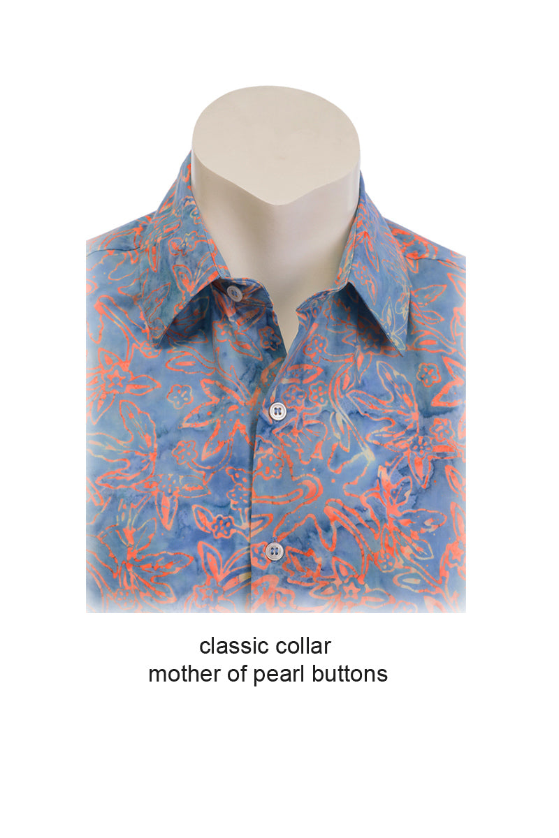 Classic Collar for Short Sleeve Shirt