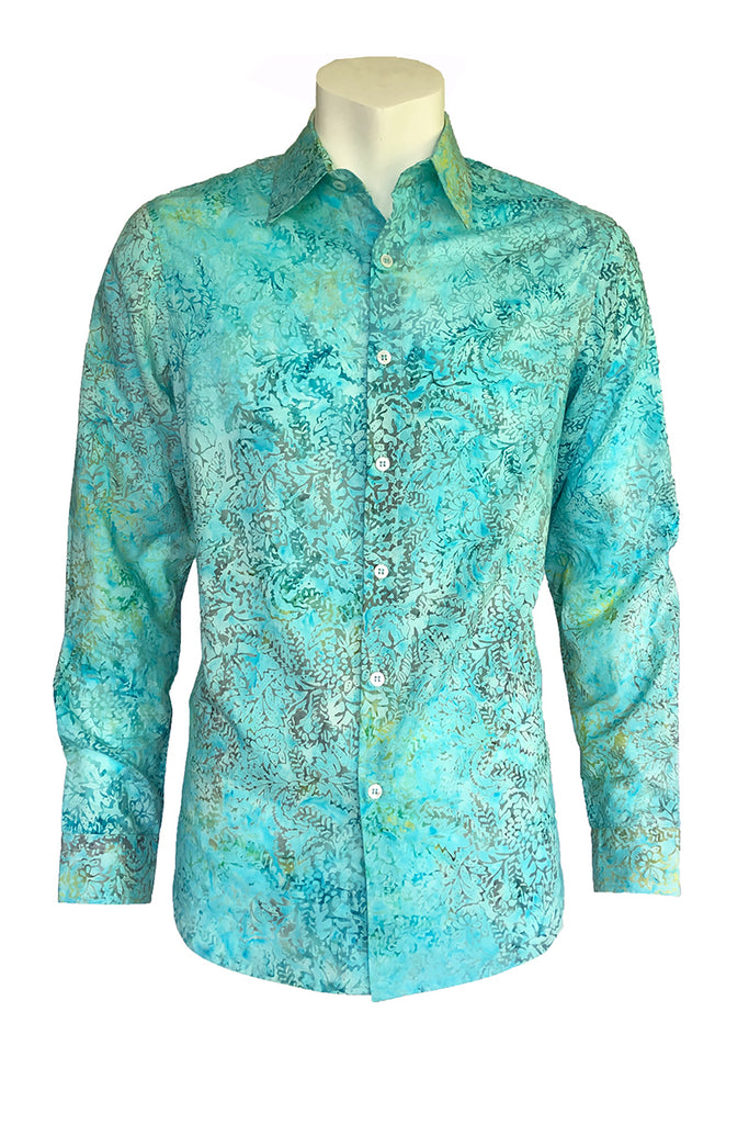 Long Sleeves Batik Shirt