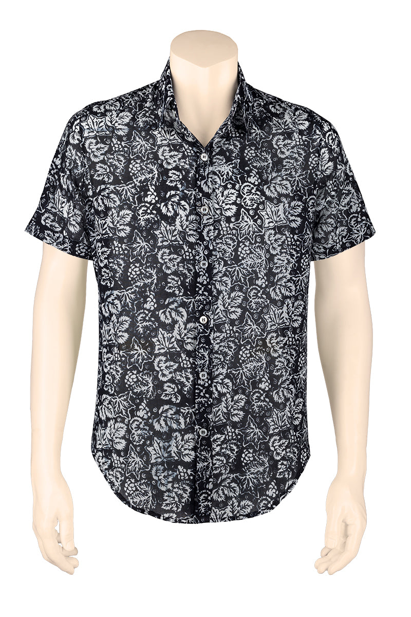 Black & White Men Shirt