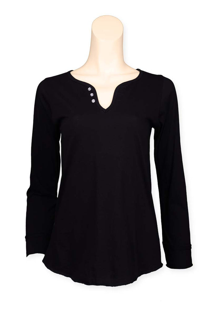 Long Sleeve Tee Black