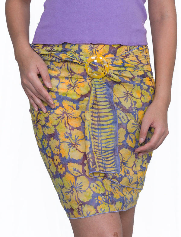 Short Sarong Voile