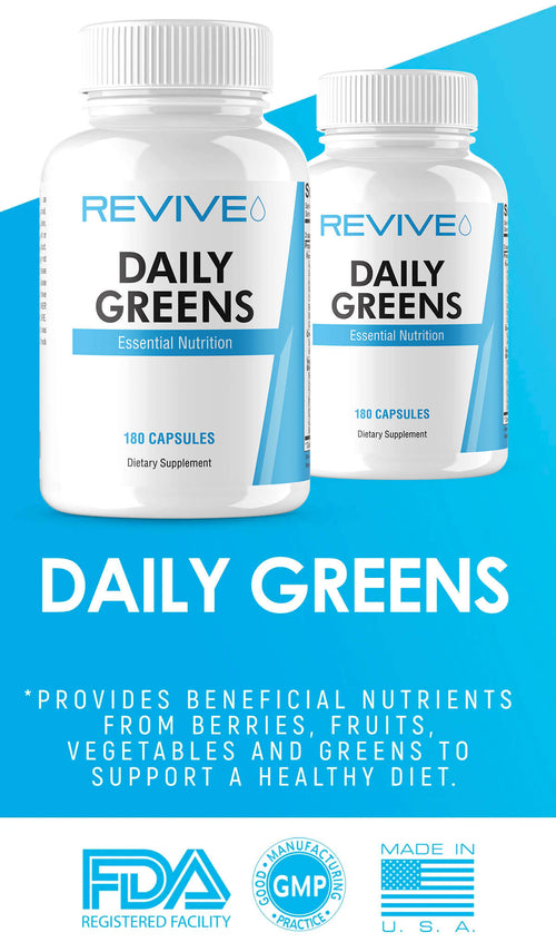Revive Daily Greens Banner