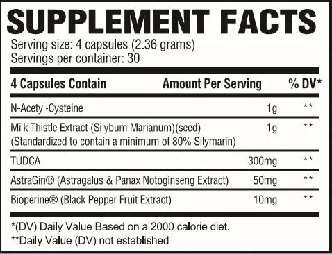 Liver Supplement Facts