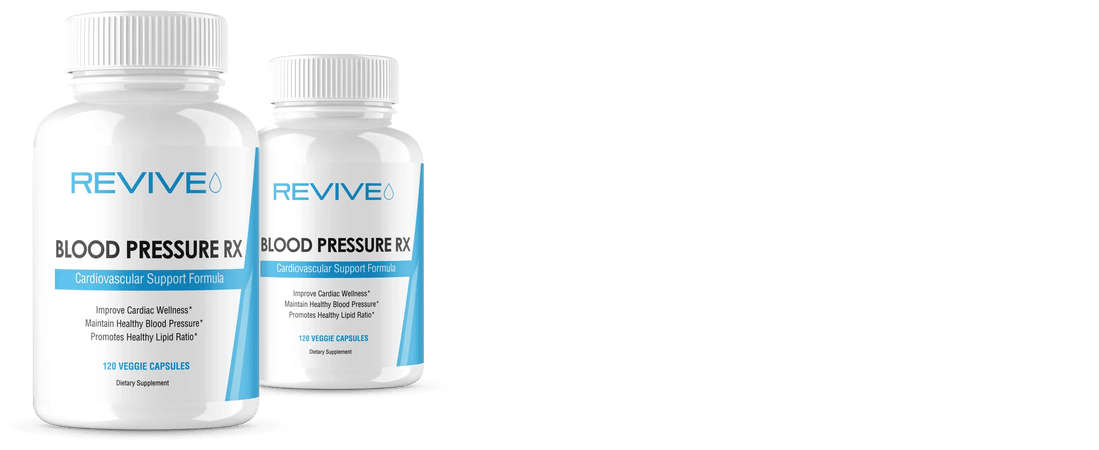 Revive Blood Pressure RX Banner