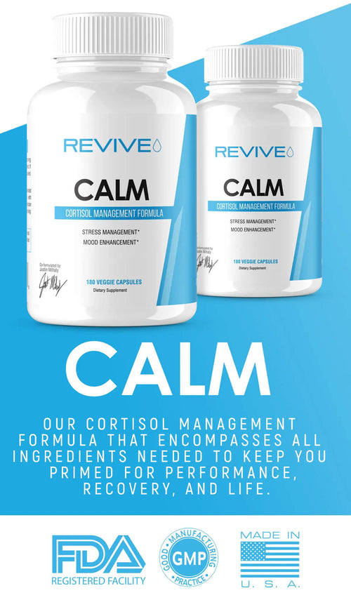 Revive Calm Cortisol Supplement Banner