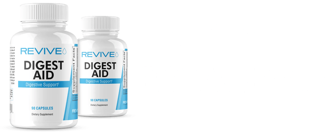 Revive Digest Aid Supplement Banner