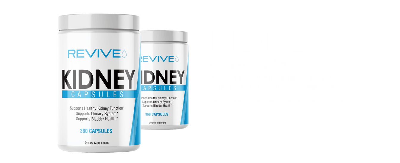 Revive Kidney Support Supplement Banner