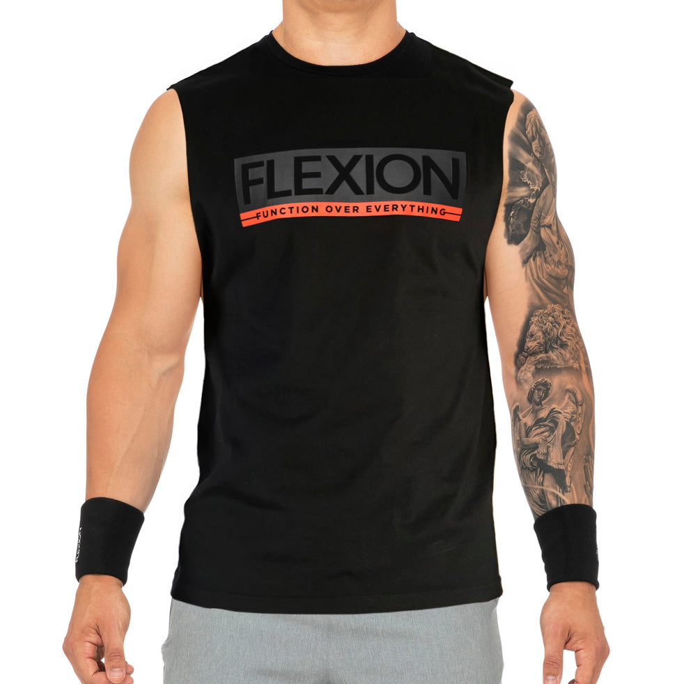 Flexion Headline Tank - Black