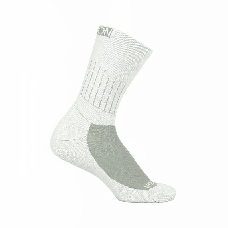 Flexion ArchFlex Crew Socks - Chalk