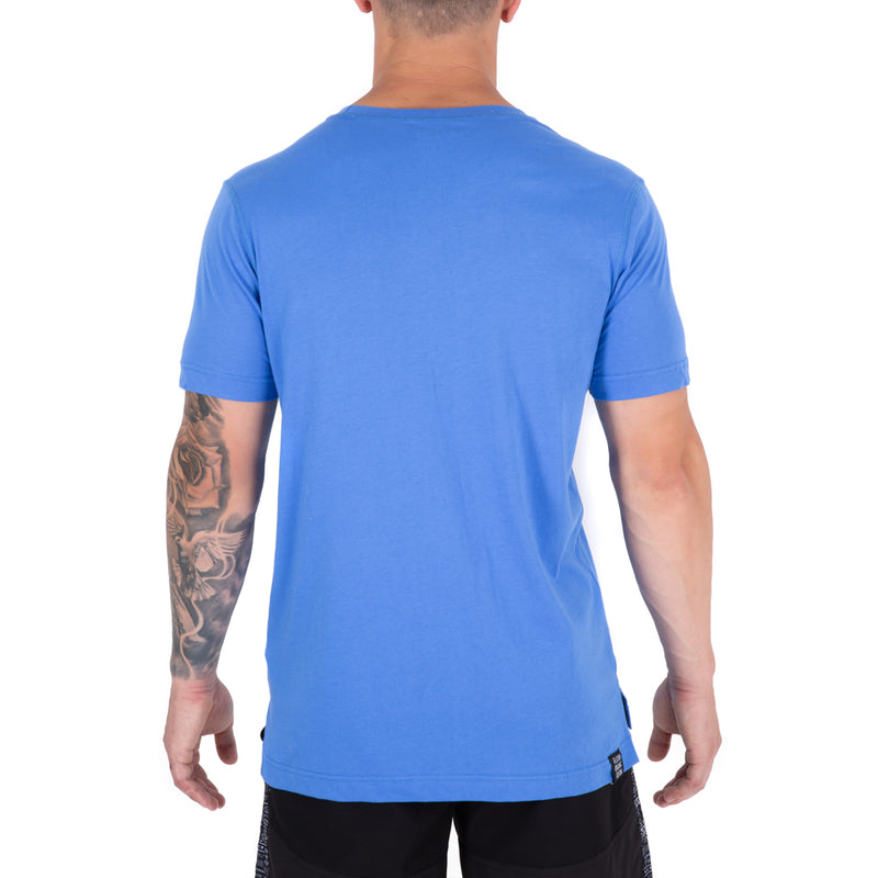 Organic Cotton Training Tee - Lagoon Blue