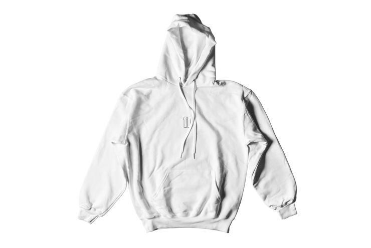 HOODIE 'NO PLACE LIKE HOME' WIT