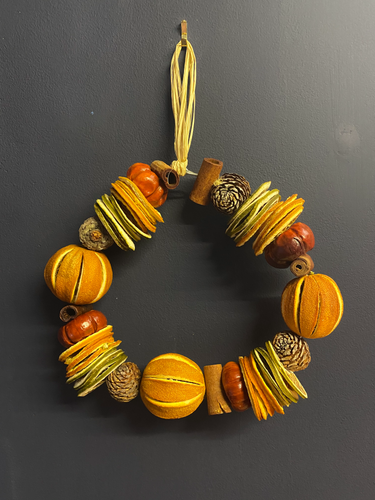 Scented Orange Wreath