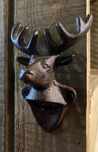 Wall mounted stag opener