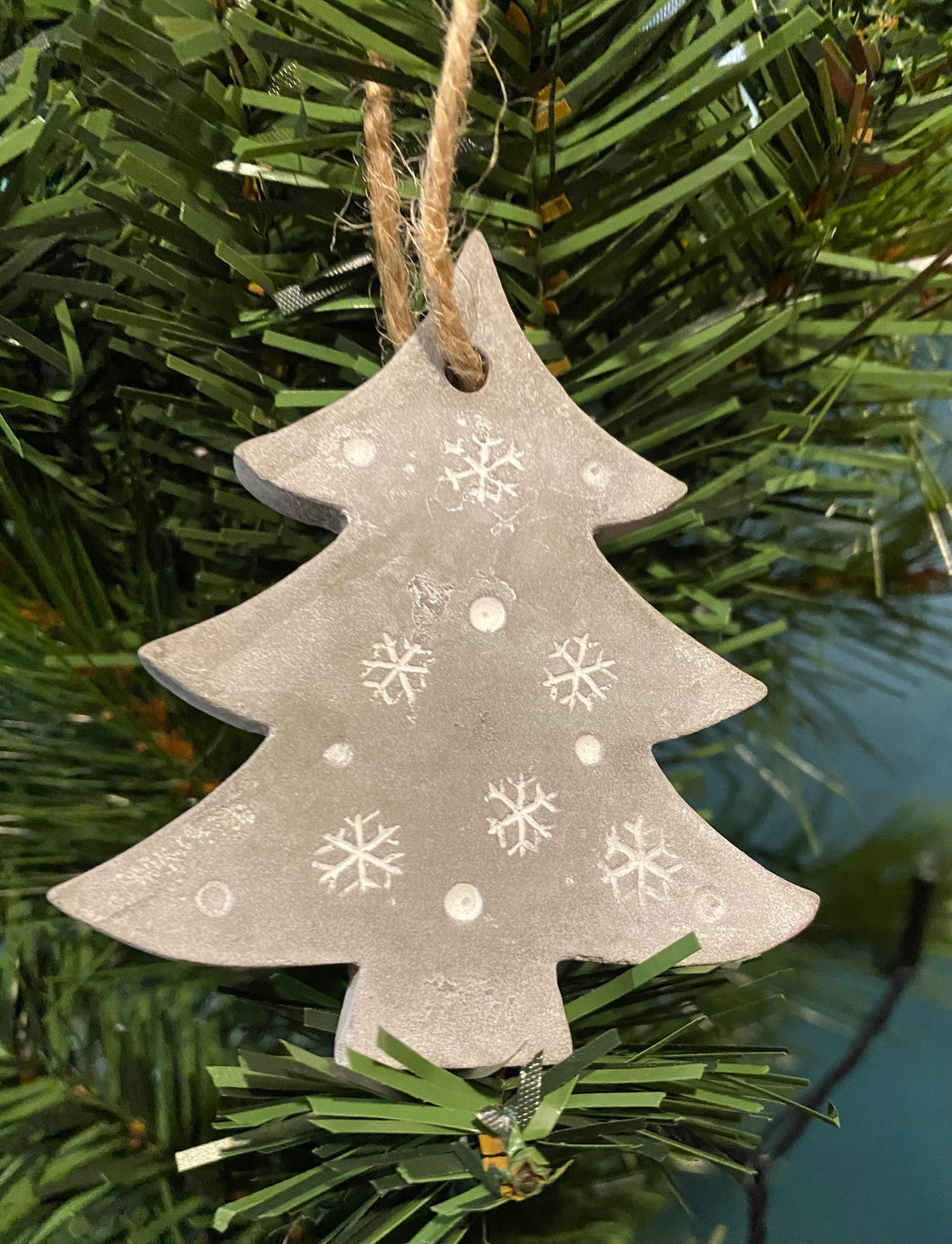 Concrete Tree Decoration